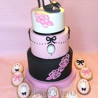 40th BIRTHDAY - Cake by BRICIOLE DI TORTA di MARIA SILVIA CHECCACCI
