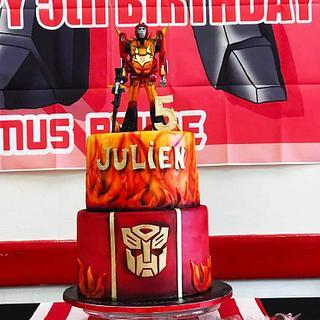 Transformers cake - Cake by Ivan Karapenchev