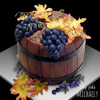 Wine barrel - Cake by Michaela Hybska