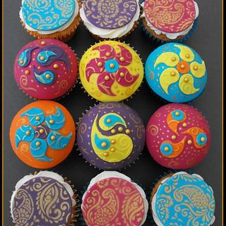 India Theme Cupcakes - Cake by Gill W