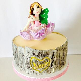 Winx flora... fairy cakes... - Cake by Tatlı Dünyalar by Vildan Özkara