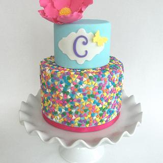 Sprinkle birthday cake - Cake by Dakota's Custom Confections