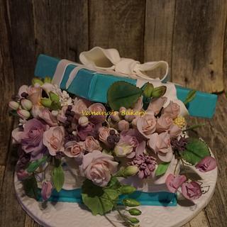Tiffany Flower Box