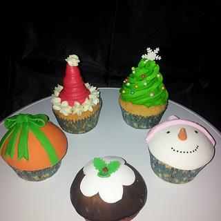 xmas cupcakes - Cake by louise