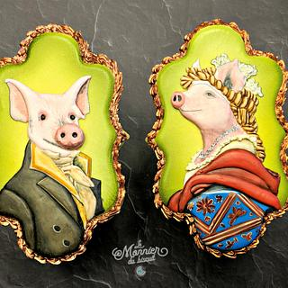 Year of the Pig Challenge (Bakerswood) - Cake by Le Monnier du Biscuit