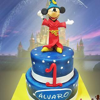 Mickey Mouse Fantasy - Cake by Auxai Tartas