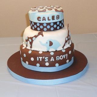 Baby Shower Cake M2M Nursery Decor