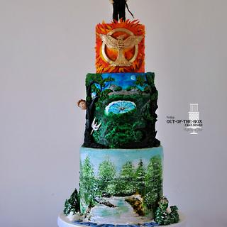 Hunger Games  - Cake by Bobie MT