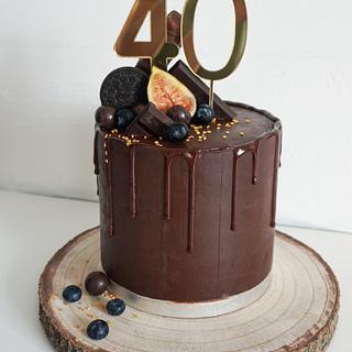 Birthday cake - Cake by Pat