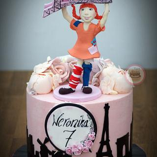Pippi Langstrumpf cake - Cake by TortLove by Aga