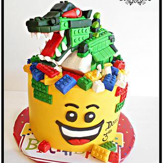 Lego Birthday - Cake by Bethann Dubey