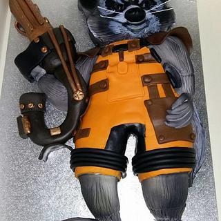 Rocket Raccoon - Guardians of the Galaxy