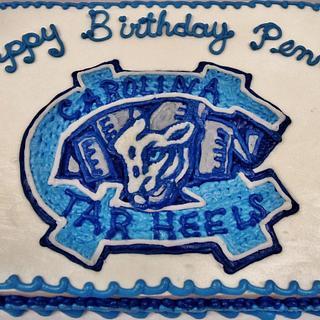 North Carolina University Tar Heels BC cake