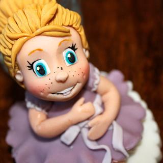little girl figure