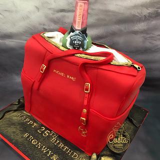 Michael Kors & Bollinger Birthday Cake