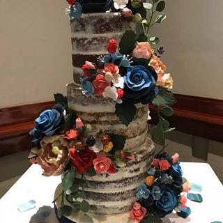 Naked Cake - Cake by Pogihekk44