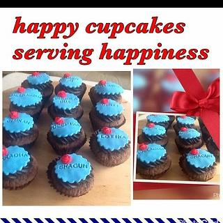 Woman's day cupcakes - Cake by Heena Sagani