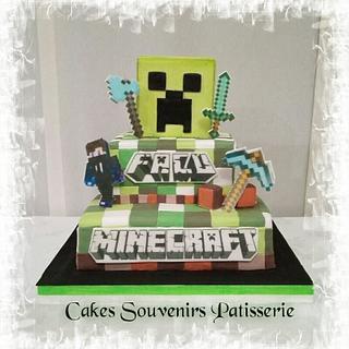 Minecraf - Cake by Claudia Smichowski