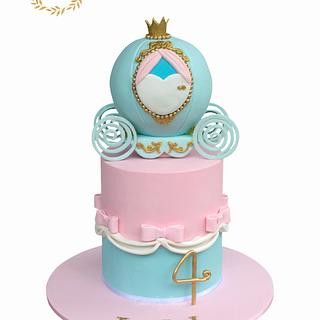 Cinderella - Cake by Cakes by Design