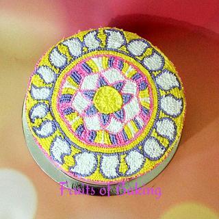 Crochet pattern cake