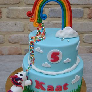 Unicorn cake - Cake by Anse De Gijnst