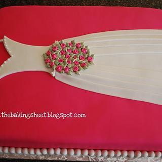 Bridal Dress Cake!