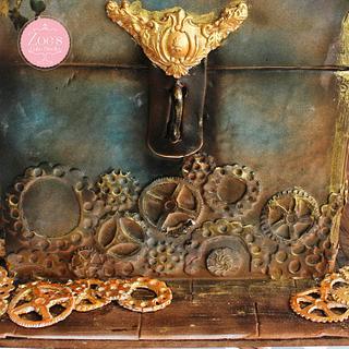 Steamy treasure box - Cake by Ankita Singhal