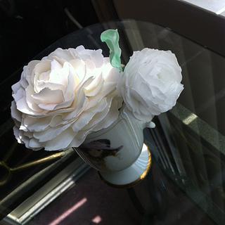Flowers  - Cake by AuroraSweetcakes