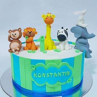Zoocake - Cake by Oliverine Čarolije