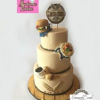 Good luck! - Cake by manuela scala