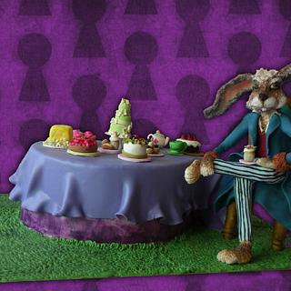 March hare from Alice in Wonderland