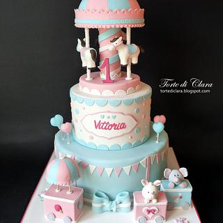 Carousel cake - Cake by Clara