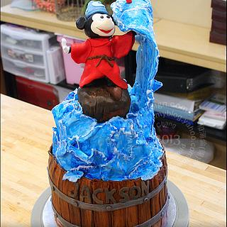 Mickey Mouse Fantasia Cake - Cake by Helen Chang