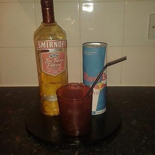 Vodka Redbull with a twist...