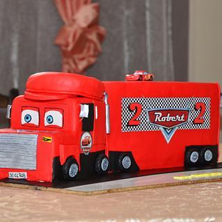 Truck cake - Cake by torturipersonalizate