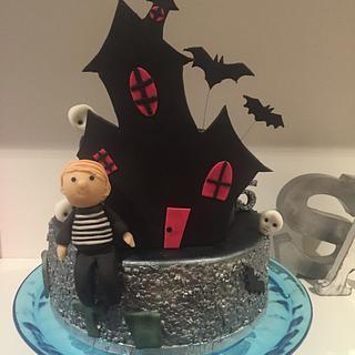 Miraculous Haunted House Cake 18 Cakes Cakesdecor Funny Birthday Cards Online Inifofree Goldxyz