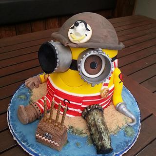 A special Pirate Minion Cake