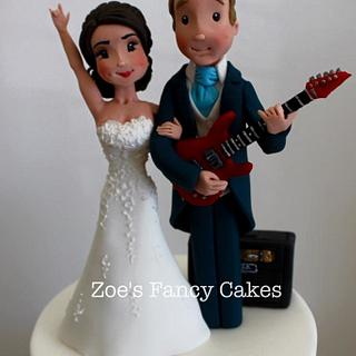 Wedding cake toppers - Cake by Zoe's Fancy Cakes