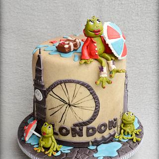 A froggy day in London
