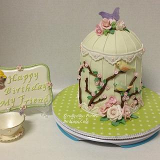 Birdcage Cake - Cake by ScrumptiousPetites