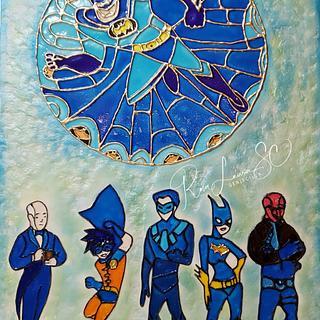 A tribute to the Batman comic