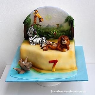 Madagascar - Cake by Jana