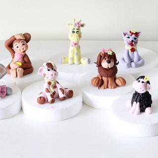 Animal Figurine - Cake by Purbaja B Chakraborty