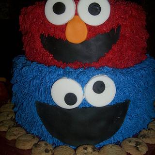 Elmo/Cookie Monster