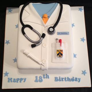 Doctors coat cake - Cake by Emma's Cakes - Cakes for all occasions