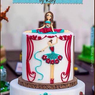 QuillRory cake