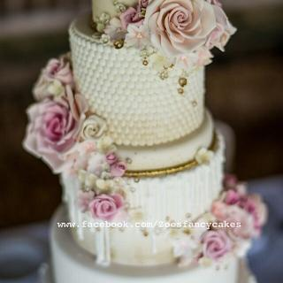Wedding cake - professional shots