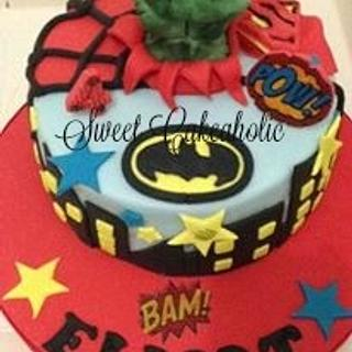 Super power  - Cake by SweetCakeaholic1