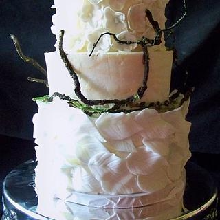 Earthy Wedding Cake