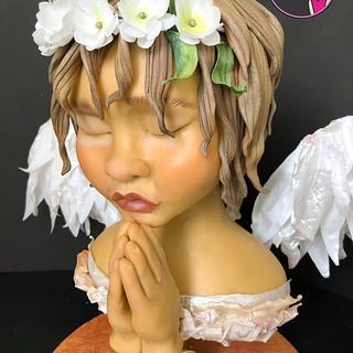 Ella es Sofia, ángel de la guarda, pieza elaborada para sweet angels collab